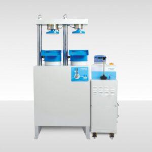 Presse semi-automatique de compression et flexion