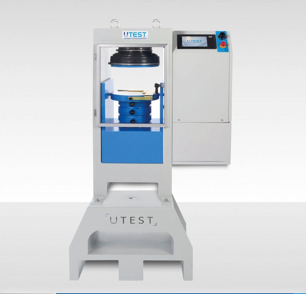 Machine de compression automatique pour cubes ou cylindres