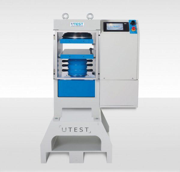 Machine de compression automatique pour blocs