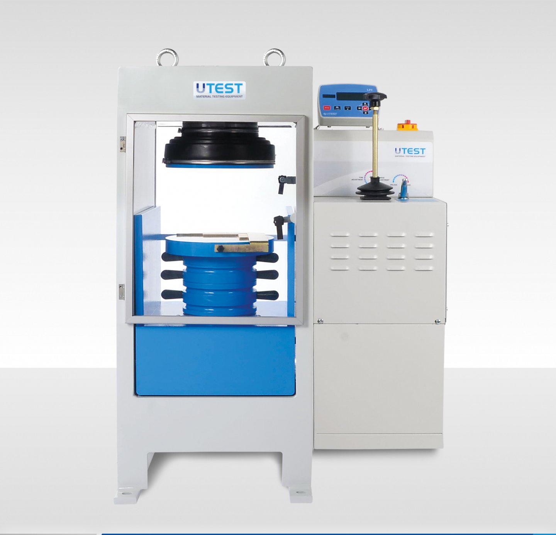 Machine de compression semi-automatique pour cubes ou cylindres
