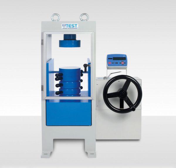 Machine de compression manuelle pour cubes ou cylindres